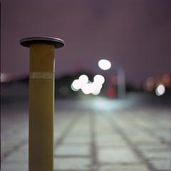 lonely pole (F_blue) Tags: tokyo kodak shibuya hasselblad harajuku  500cm  portra160nc planart c8028 fblue2008