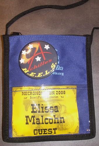 Necronomicon 2008 Badge
