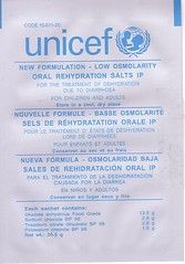 Unicef ORS Sachet (front)