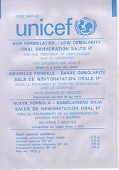 Unicef ORS Sachet (front)