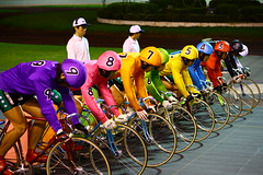 KEIRINKAWASAKI (sgym_) Tags: japan fixed fixie pista kawasaki keirin pist  njs  bixycle fixedfear