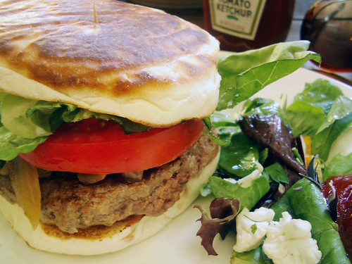 sirloin burger @ zaitzeff