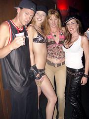 C0496 (giulianross333) Tags: girls party leather dancing skirt miniskirt pelle leder leatherskirt leatherpants cuir partygirls