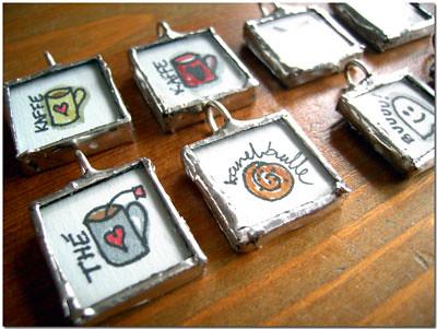 october pendants