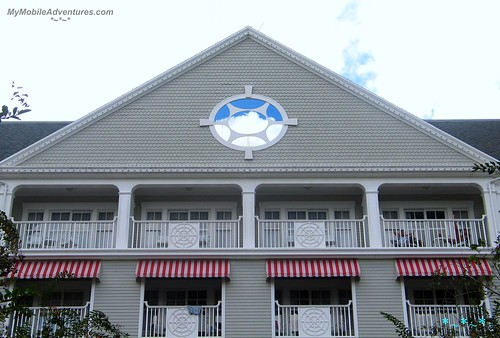 Disney's Yacht Club Blue Sky Window