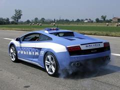new pics Polizia Lamborghini Gallardo LP560