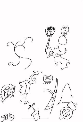Wacom Drawings