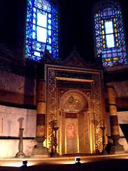 Istanbul, Santa Sofia 21 (gomitolina) Tags: santa turkey asia sofia islam religion istanbul mosque sophia hagia moschea camii turchia religione santasofia hagya