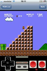 Nintendo en iPhone (IsraSeyd) Tags: game apple mobile macintosh mac ipod phone nintendo cell cellular mobil mario videogame nes iphone