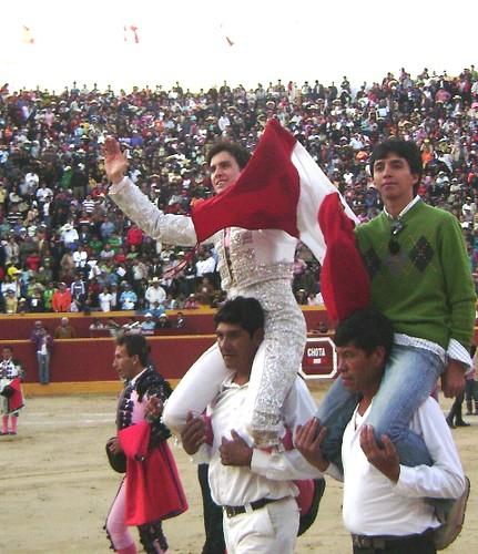 Fernando Roca Rey triunfa en Chota