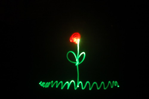LightPainting Tutorial - Flor de Luz de :::DaNka:::