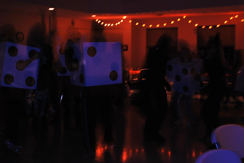 Dancing dice