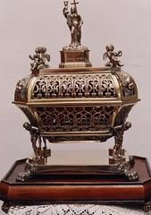 San Mancio de Ebora, obispo martir (abarrero2000) Tags: saint silver shrine reliquia valladolid holy martyr relics reliquien reliquary urna chsse relicario