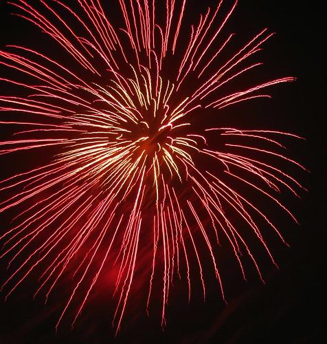 Fireworks Clapham Common