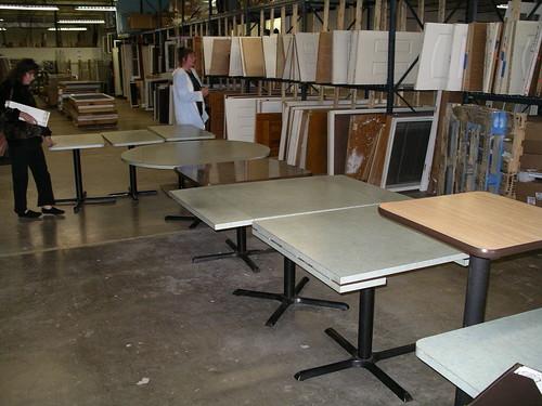 Formica Tables $15- $25 ea.