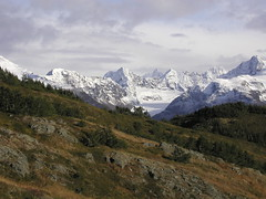 New Snow (DCSL) Tags: mountains fall alaska landscape kenaipeninsula seward lostlaketrail