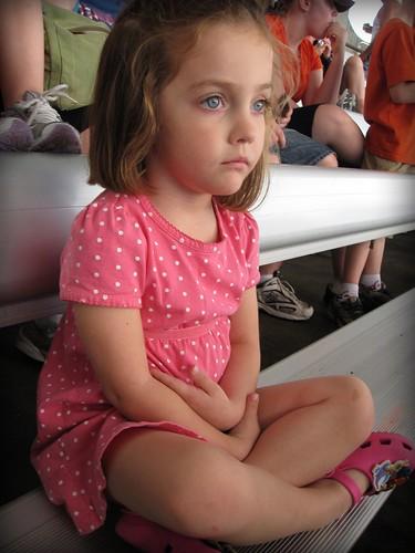 Anna sitting