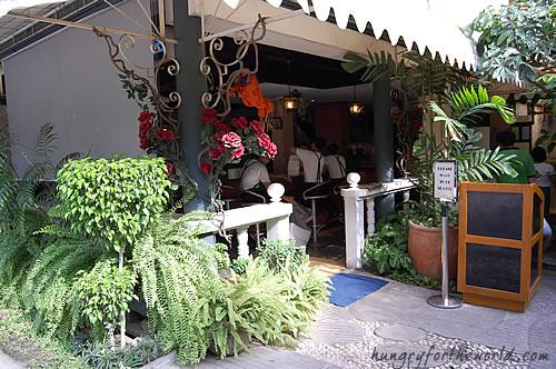 Outside Casa Verde