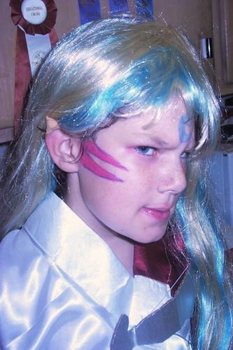 Blue-eyed Chibi Sesshoumaru