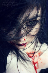 Genesis (Sombre Dreams Photography) Tags: hair blood eyes gothic goth makeup jeanette ardley dagwanoenyent gothicculture stealingshadows