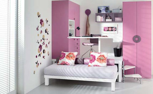 kamar anak, a simple, clean and modern style
