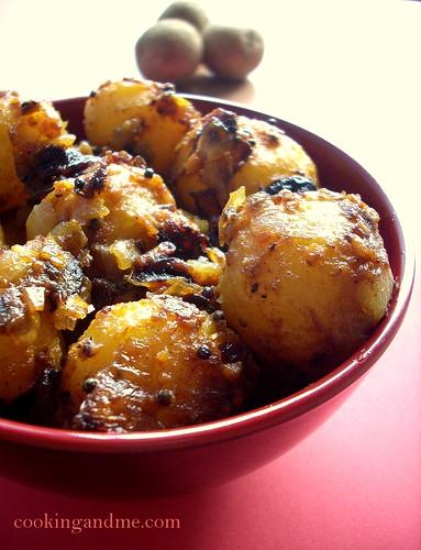Spicy Baby Potatoes | Roasted Baby Potatoes Recipe