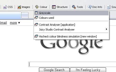 15 Add On Firefox web developer Web Accessibility Toolbar