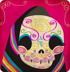 calaverinda (Yo Mostro) Tags: illustration mexico death skull free dia mexican muertos vector catrina mexicano calavera