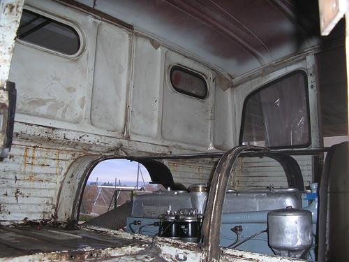 Motor i cabina d'un Pegaso 1061