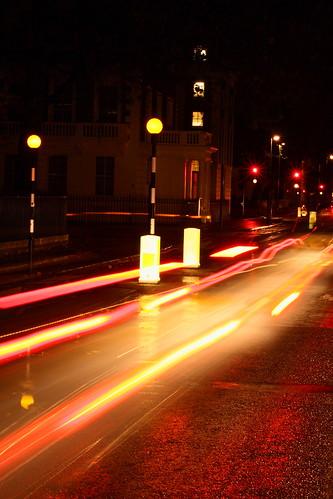 Bloomsbury night scene