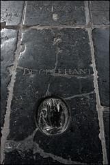Floor of the Oude Kerk