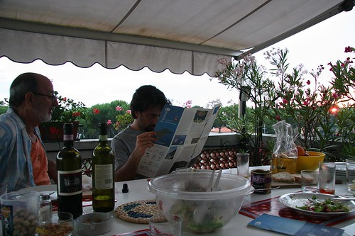 Capraia, July 2008