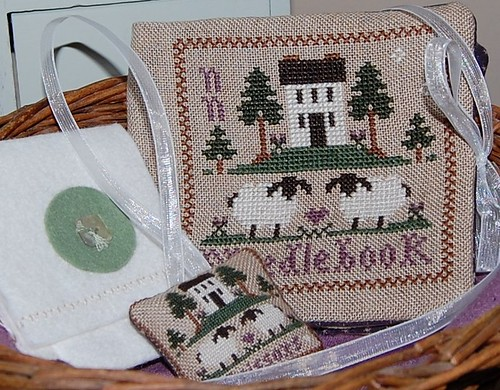 LHN Wool Needlebook and Fob