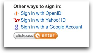 OpenID for Google and Yahoo on Plaxo