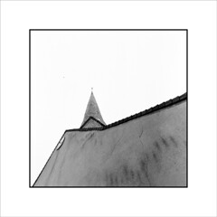 Eglise (Jose Luis Durante Molina) Tags: bw france arquitectura iglesia paisaje francia eglise visualart lasarthe staignan joseluisdurante