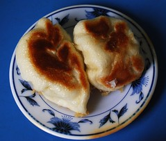 頭城早餐店 水煎餃 高麗菜 韭菜兩種