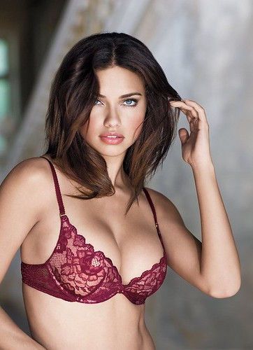 Adriana Lima in the Holiday Wish Book Photoshoot