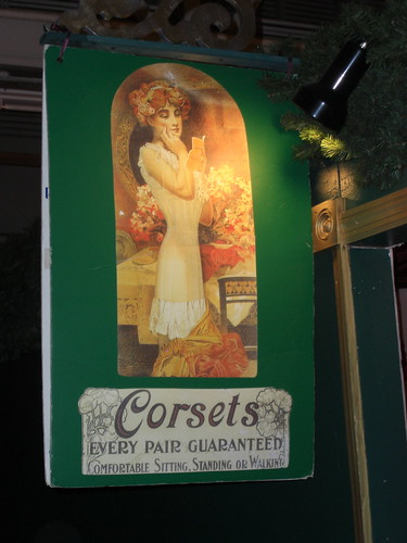 Corset Shop - Dickens Faire