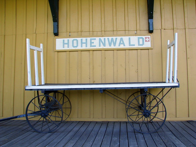 Hohenwald Train Depot