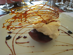 Roasted Apple with Quince Jelly at Ruca Malen in Mendoza, Argentina