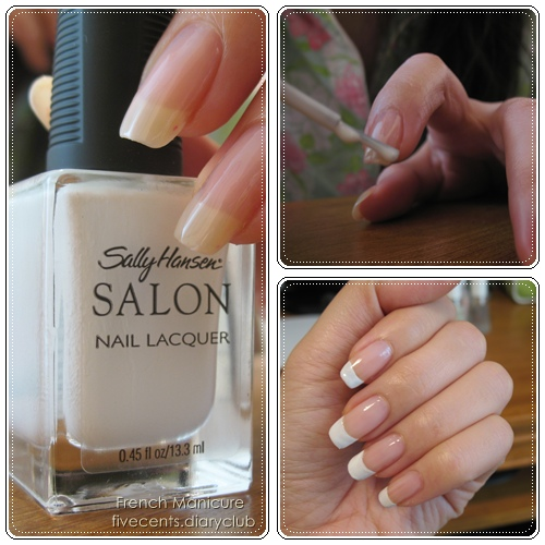 DIY French Manicures