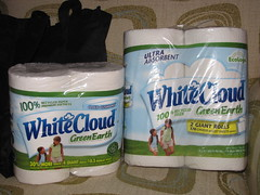 White Cloud Green Earth TP & Paper Towels