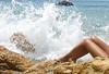 el romper de las olas...