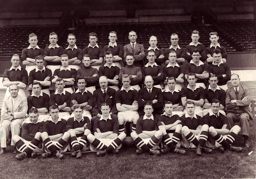 Manchester United 1936-37 team photograph