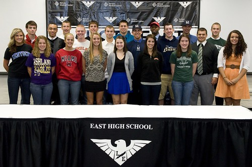 Lakota East signing day