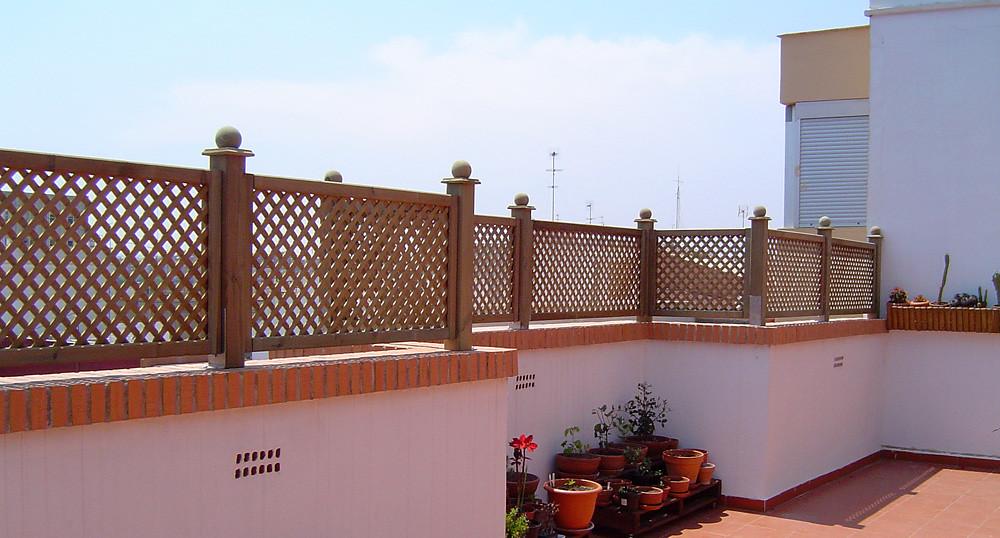 Celosias terrazas aticos perfect celosias terrazas aticos for Celosia terraza