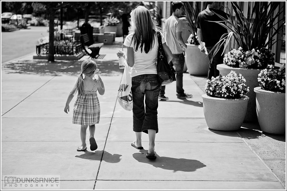 Mommy B&W.