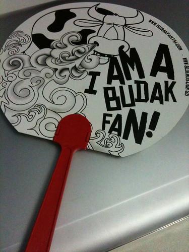 I am a Budak's FAN! keke