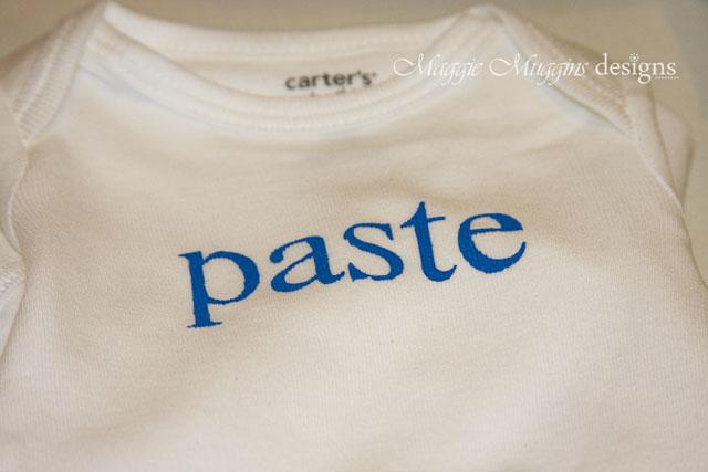Paste Onesie