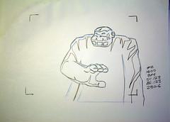 The Herculoids Hanna-Barbera animation pencil art #H112 (Nemo Academy) Tags: original hanna drawing herculoids barbera the